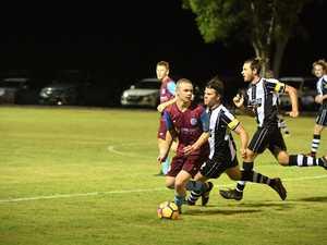 MOVE: Aston Villa player Nicholas Jackson turns the