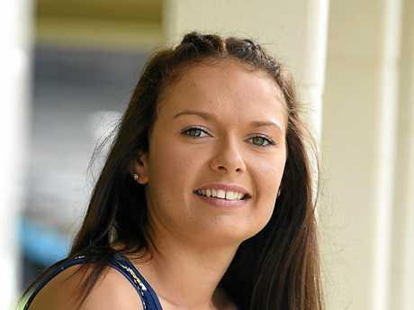 Gympie Showgirl Sammie Sutton.