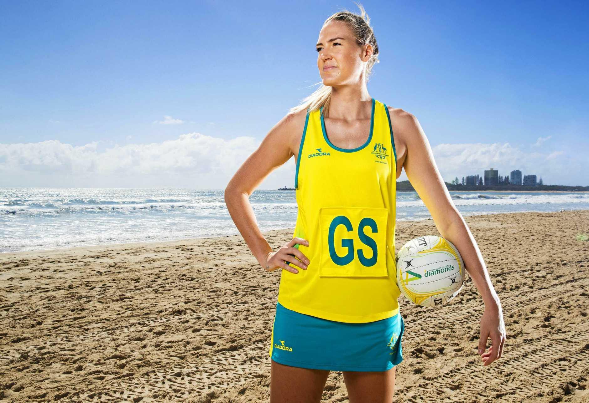 Australian netball captain Caitlin Bassett.