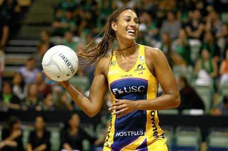Geva Mentor in action for the Sunshine Coast Lightning.