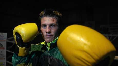 Commonwealth Games boxer Justin Kane.