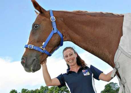 Paralympic equestrian Marita Hird.