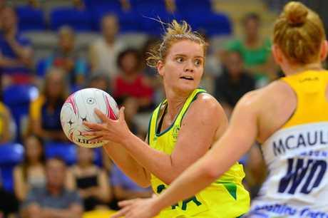 Netballer Stephanie Wood.