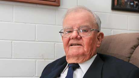 LOOKING BACK: Jim Banks, 92, recalls his life as a Flight Sergeant.