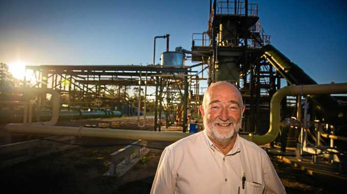 BURNING RUBBER: Green Distillation Technologies CEO Trevor Bayley, who is behind a proposed new tyre recycling plant, sat down with the Toowoomba Regional Council ahead of an official lodgement.
