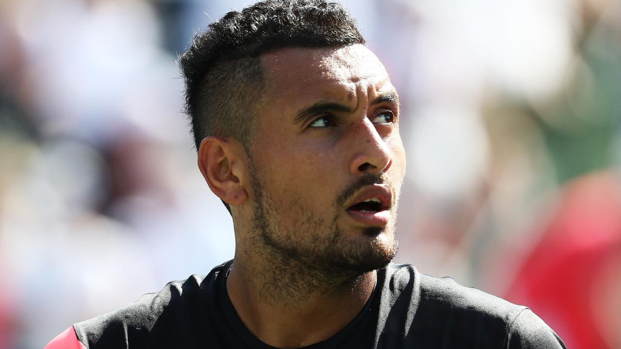 Nick Kyrgios is currently back in Canberra looking to get back to full health.