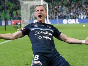 Berisha magic keeps Victory flying in finals