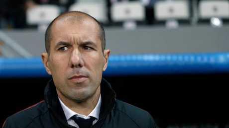 Monaco's coach Leonardo Jardim