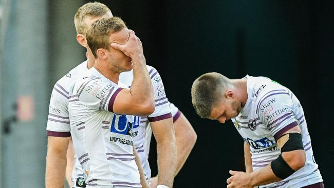 Manly were completely outclassed by the firing Eels.