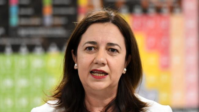 Annastacia Palaszczuk's Government is spending $3 billion a year on salaries for the most senior public servants. Picture: AAP Image/Dan Peled