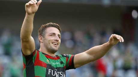 Sam Burgess will make his return for the Rabbitohs.