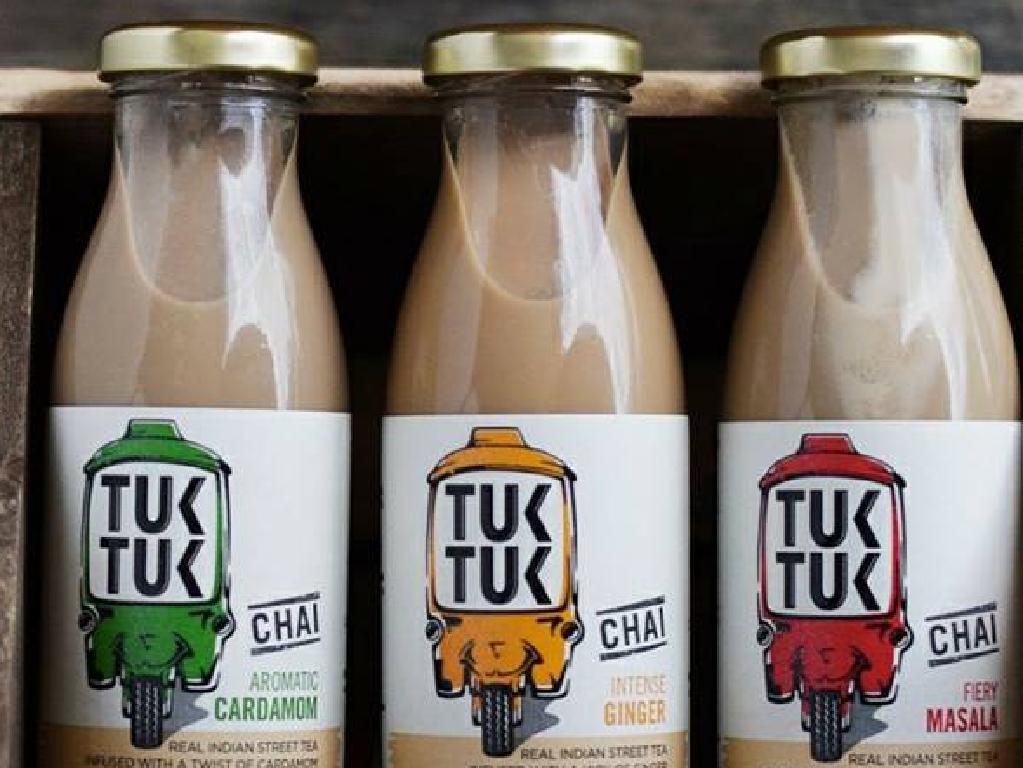Tuk Tuk is now sold in high end UK store, Harvey Nichols. Picture: Facebook/Tuk Tuk Chai
