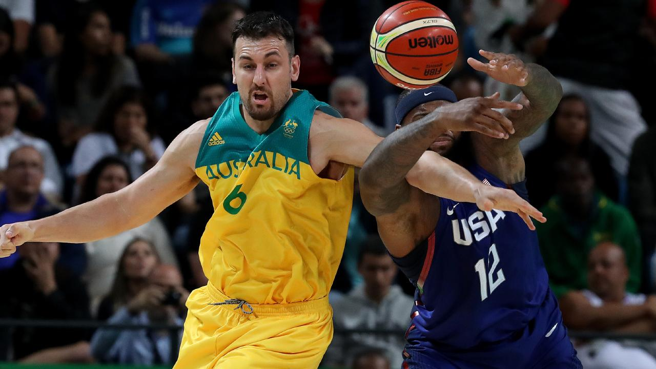 Andrew Bogut could well have prolonged his Boomers career with the move.