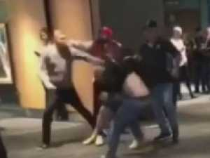 'Shocking' eight-man brawl stuns footy