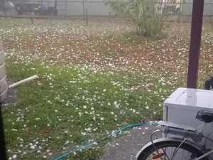 Hail storm smashes Sunshine Coast