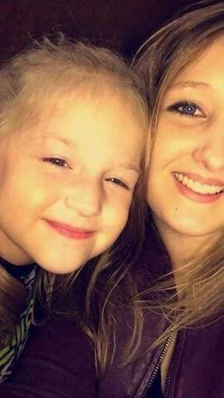 Kogan resident Jaymi Clarke, 22, and her daughter Kaylee Donohoe, 5. They were passengers in a car that struck Chinchilla man Steven King on Friday, April 13, 2018 at around 7pm on the Warrego Highway between Jondaryan and Bowenville.