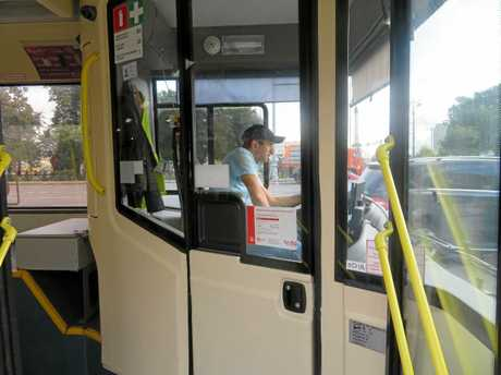 Coast bus driver Greg Eaves has called for enclosed cabins for all buses, similar to those currently operating in Russia.