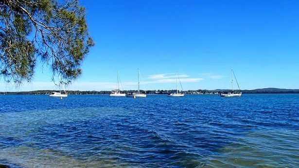 Members of Shag Islet Yacht Club at Season of Sail on Day 2 Lake Macquarie