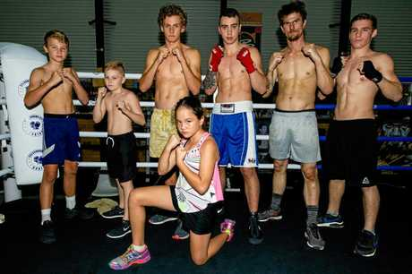 BOX CITY: Caloundra boxing studio held a significant competition last weekend