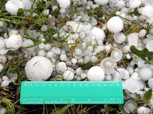 'IT COULD LOOK LIKE SNOW': Possible hailstorms for Bundy