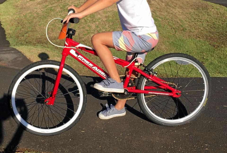 CARJACKING: A boys bike was also in the vehicle that was stolen.
