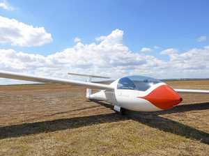 Glider soars into Springfield