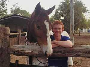 Young Rocky-based apprentice jockey hospitalised after fall