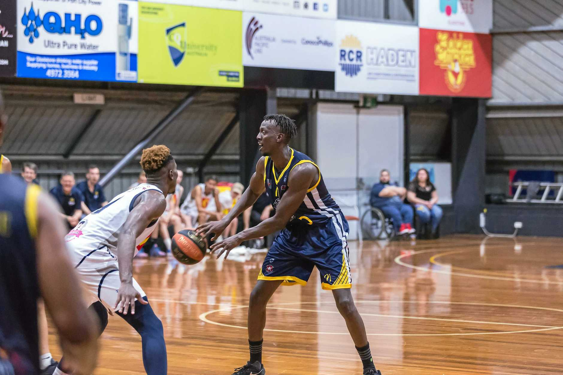 Import Cirkook 'Shaq' Riak has impressed in his two games for Port City.