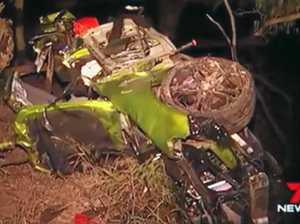 Horror fatal crash scene confronting for witnesses