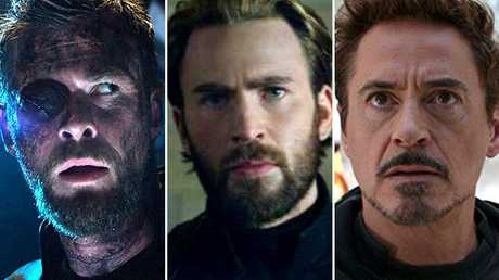 The lives of Chris Hemsworth's Thor, Chris Evans' Captain America and Robert Downey Jnr's Iron Man are all at risk in Avengers: Infinity War. Hemsworth to dominate in Avengers Infinity War