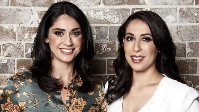 Sonya and Hadil from MKR. Picture: Channel 7