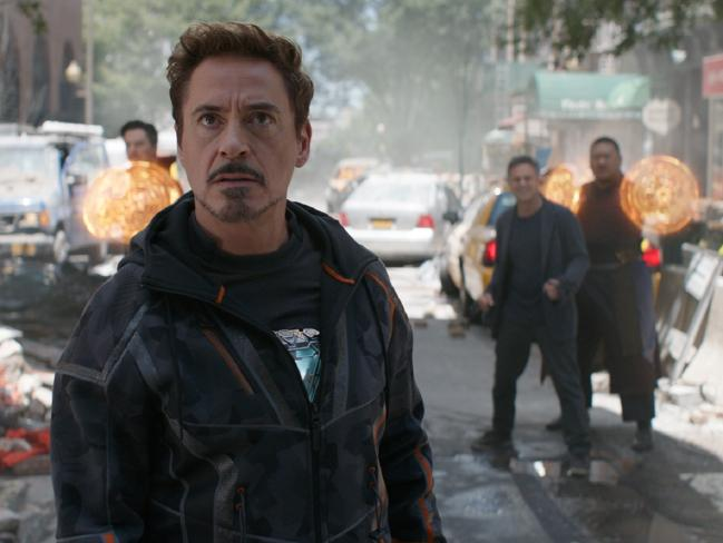 Will Robert Downey Jnr's Iron Man make it out alive? Picture: Marvel Studios