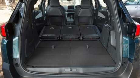 Massive cargo space: Slight design flaw with gap behind second row seats.