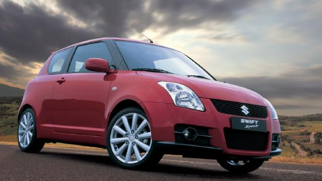 2011 Suzuki Swift Sport.