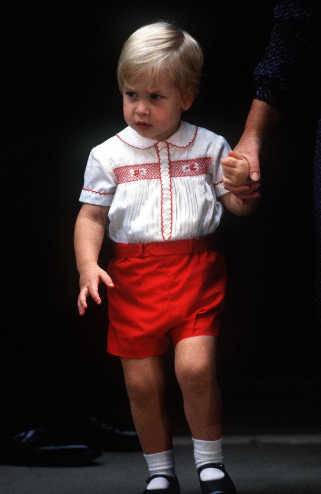 A young Prince William did the same thing to meet Prince Harry more than 30 years earlier.