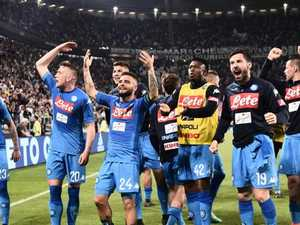 Serie A shock! Last gasp Napoli stun Juve in crazy title charge
