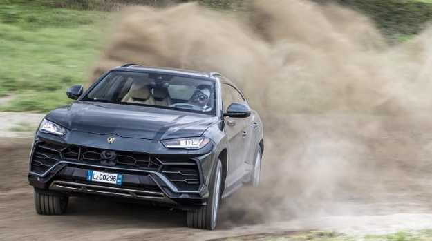 The Urus is a wild ride both on dirt and tarmac. Picture: Supplied.