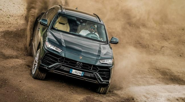 The Lamborghini Urus can sprint from 0-100km/h in just 3.6 seconds. Picture: Supplied.