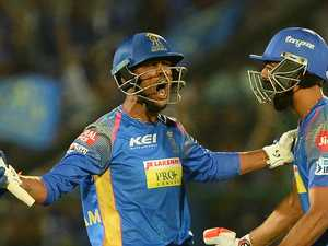 Chennai and Rajasthan win IPL cliffhangers
