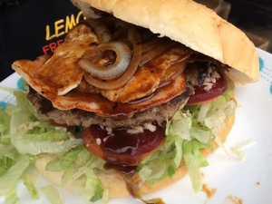 Truckie burger a winner