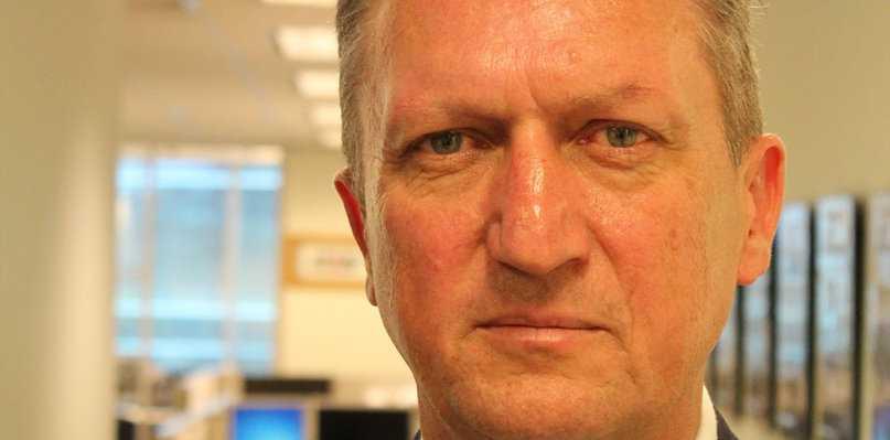 Australian Trucking Association Chair Geoff Crouch.