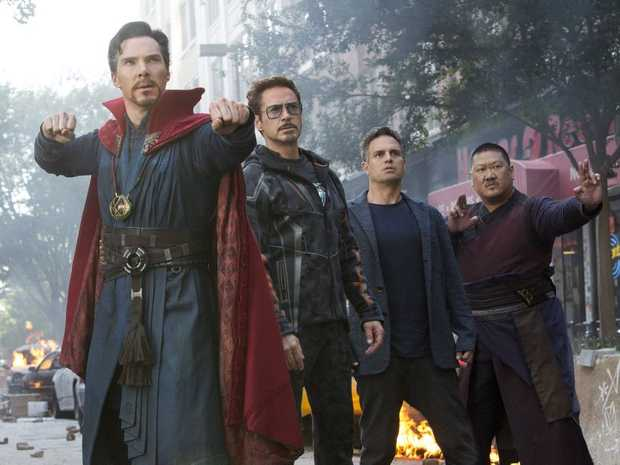 Doctor Strange teams up with Tony Stark and Bruce Banner in Avengers: Infinity War.