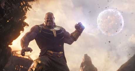 A very big and angry Thanos.