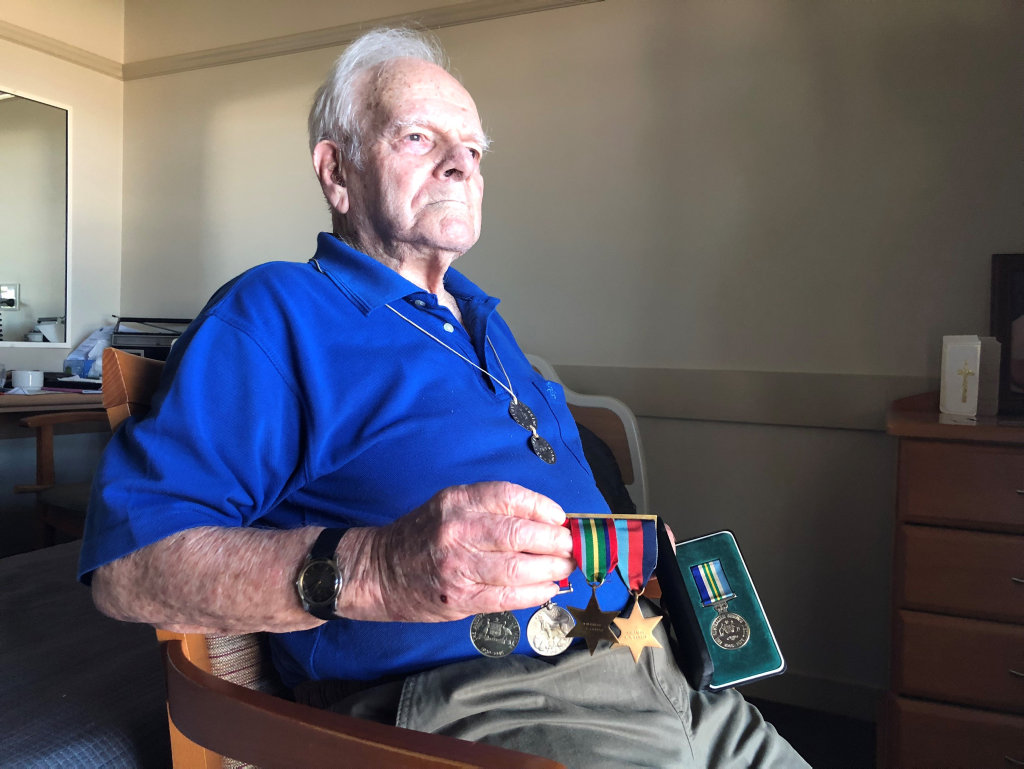 Hervey Bay Second World War veteran Bob Larter shares his memories.