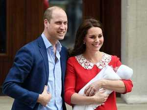 FIRST PICS: Kate and Will show off newborn son