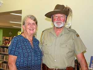 Couple keep alive spirit of Anzac