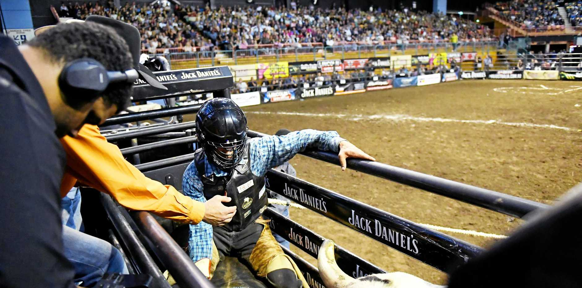 GREAT SHOW: The PBR will take the best cowboys and bulls in the business to Cairns.