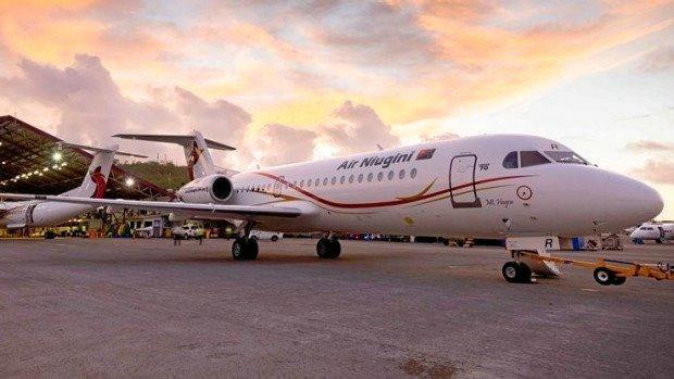 An Air Niugini aircraft.