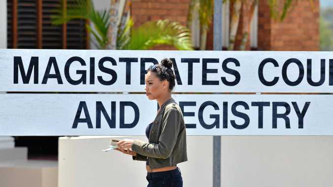 BACK IN COURT: Destiny Kiona Downs (pictured in 2014) pleaded guilty to four charges at Gympie Magistrates Court on Monday.