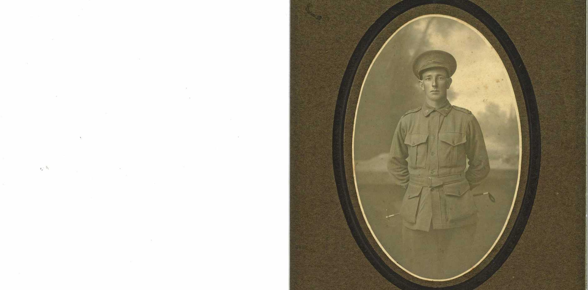 KILLED IN ACTION: Private Alexander Mark Downie.